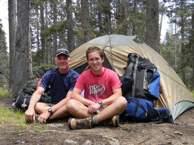 Camping at Stewart Lake
