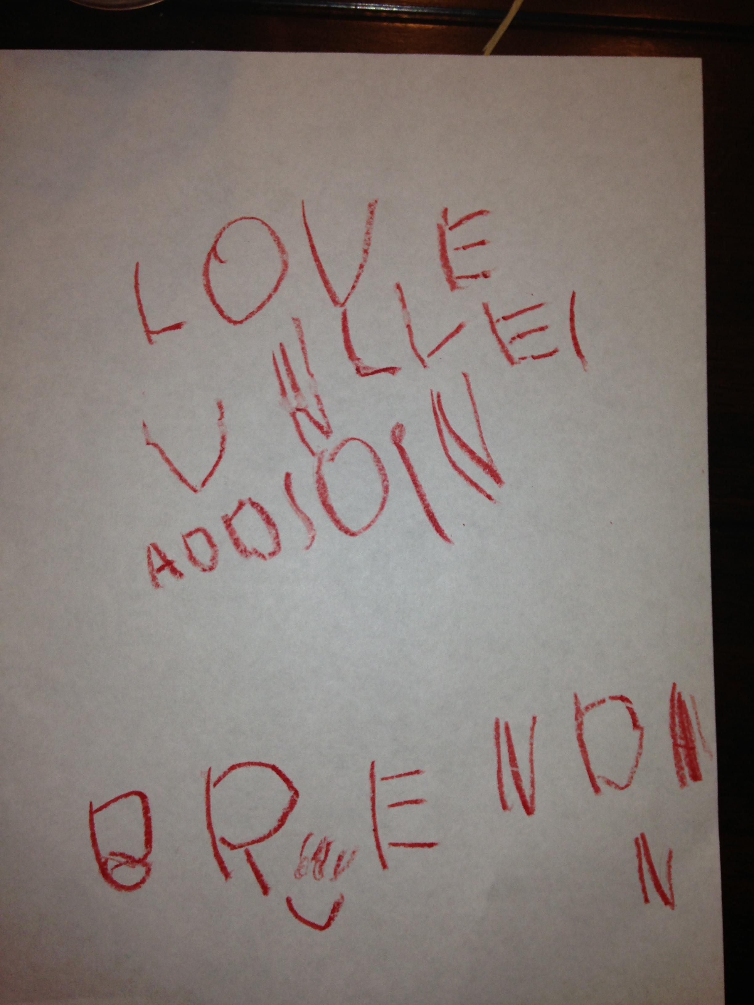 Addi's note